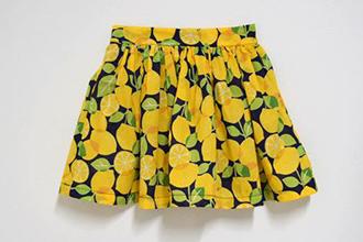 ギャザースカート 画像