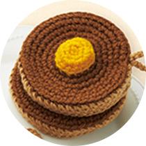 ホットケーキ レシピ画像