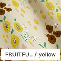 FRUITFUL/yellow